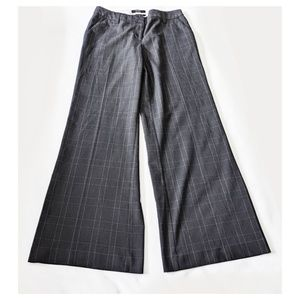 BODY by VICTORIA Marisa Fit Trouser Pants 8 Plaid